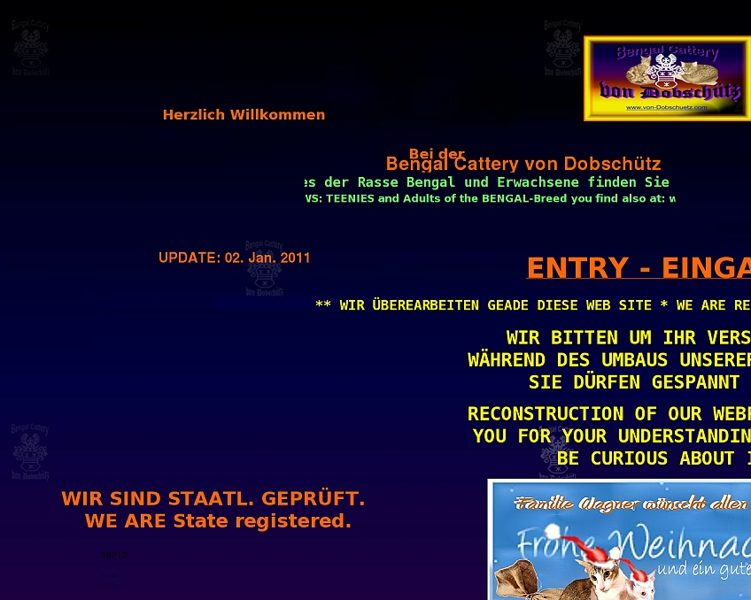 bengal-cattery eu - websites from hell