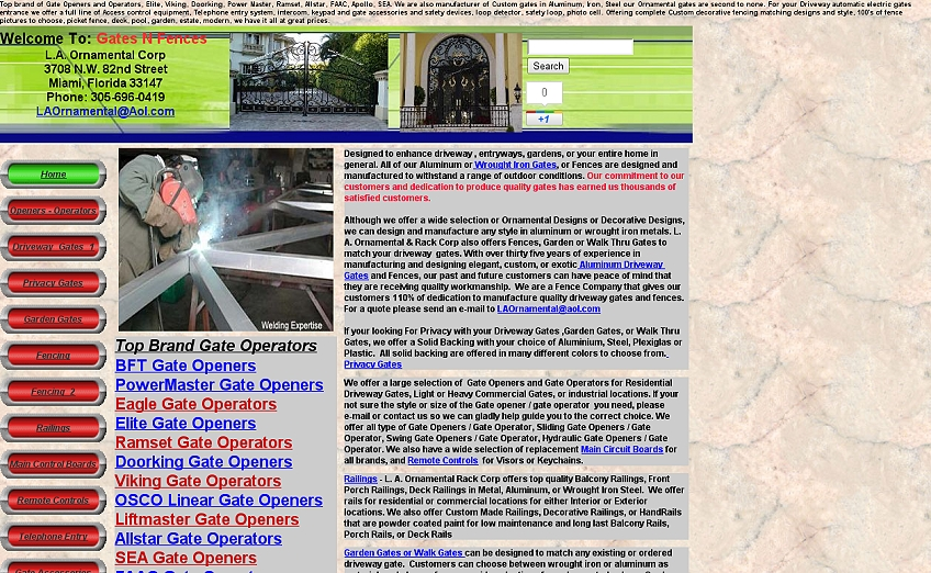 Gatesnfences Com Websites From Hell
