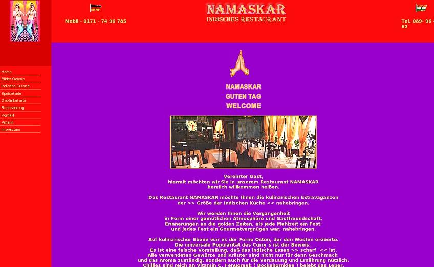 Namaskar Ismaning De Websites From Hell